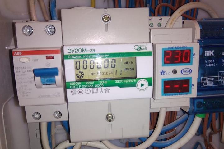 счетчик электричества