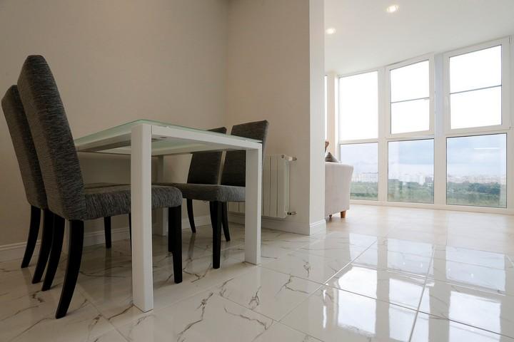 Использование стекла в мебели для столовой