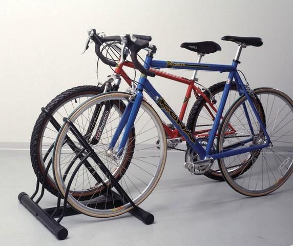 """Напольная система хранения велосипеда на """"велопарковке"""""""
