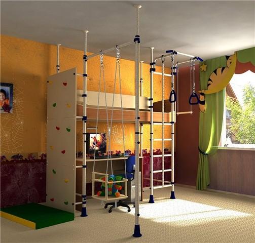 Спортивный инвентарь для спортивного уголка в детской