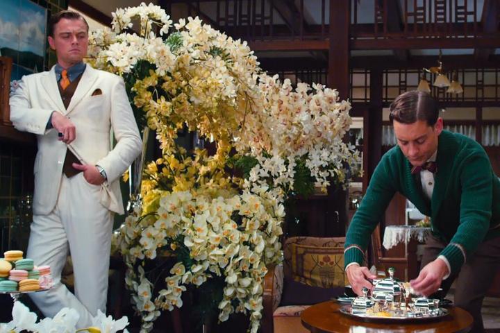 Сцена встречи Джея и Дейзи в доме Ника