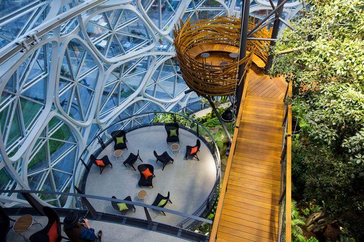 Офис Amazon в Сиэтле