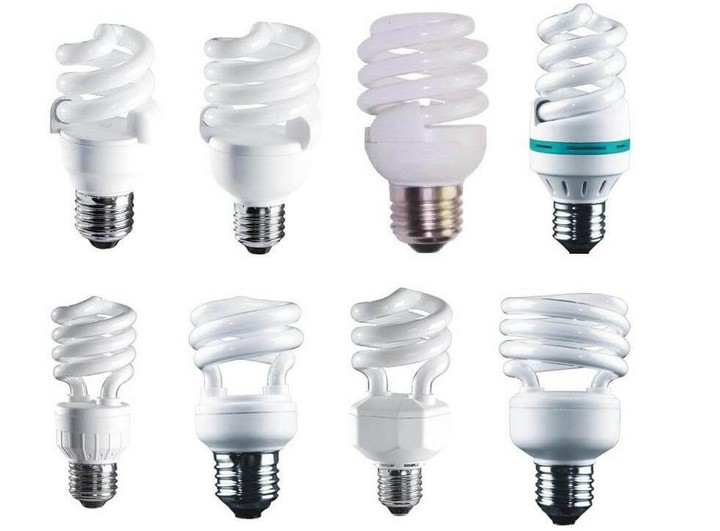Люминесцентные лампы разной формы