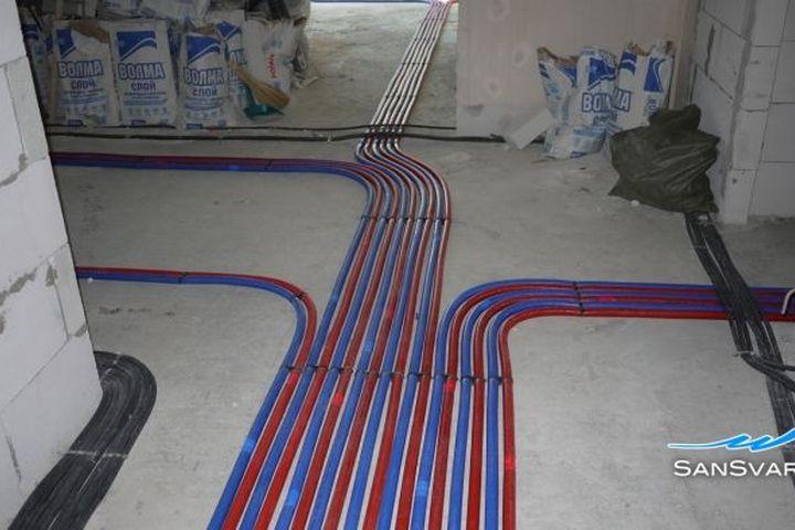 Обновленная проводка в квартире