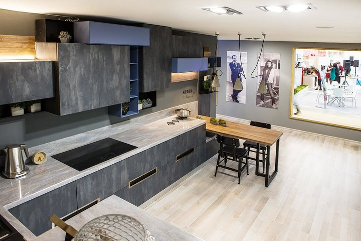 "Кухонные фасады ""под бетон"""