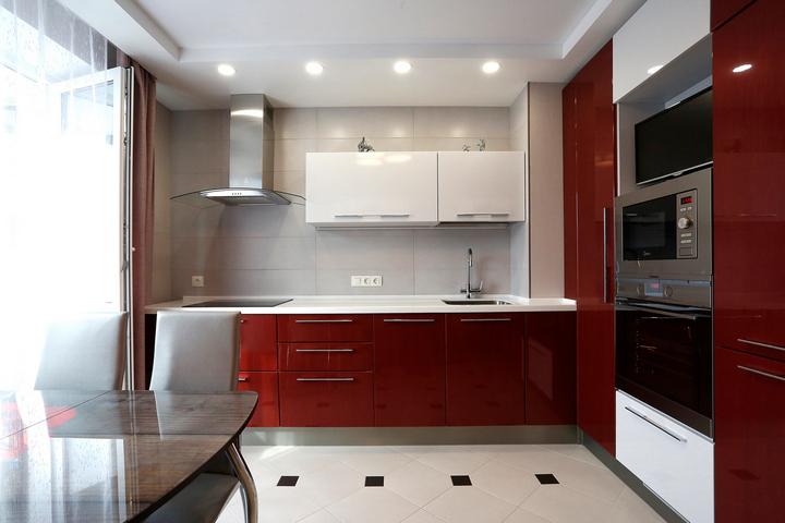 Кухня по проекту Ремэлль