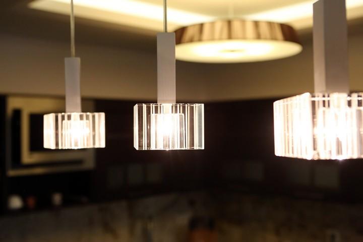 Подвесные светильники со светодиодами