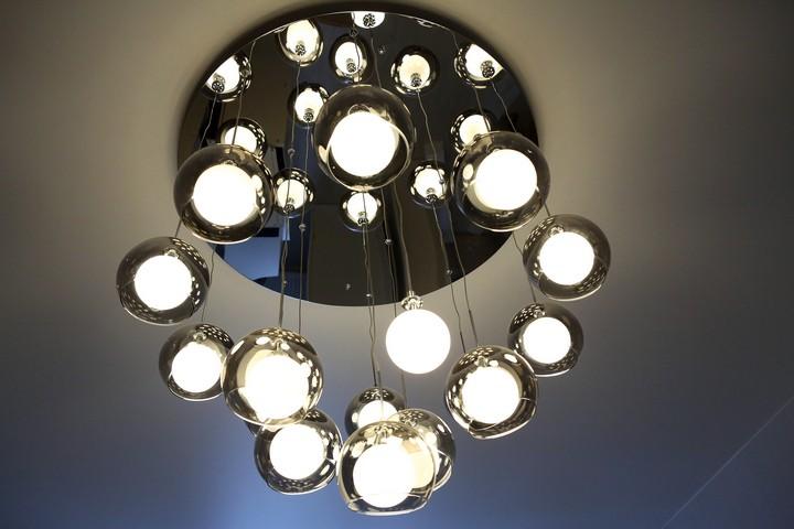 Люстра с диодными лампами