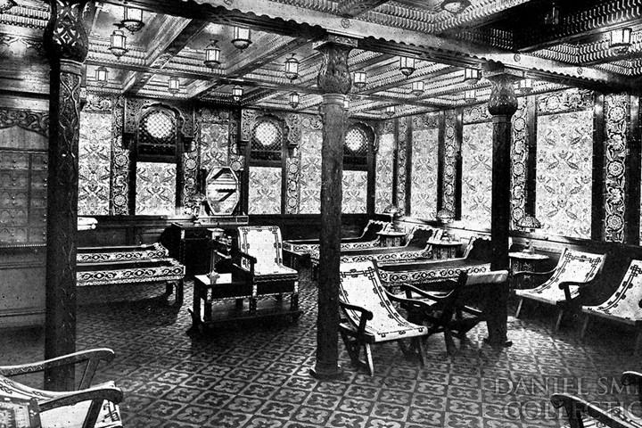 Комната отдыха в Дамасском стиле