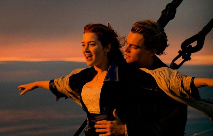 Знаменитая сцена из фильма Титаник