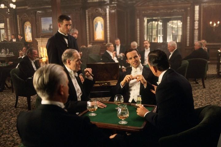 Сцена в курительной из фильма