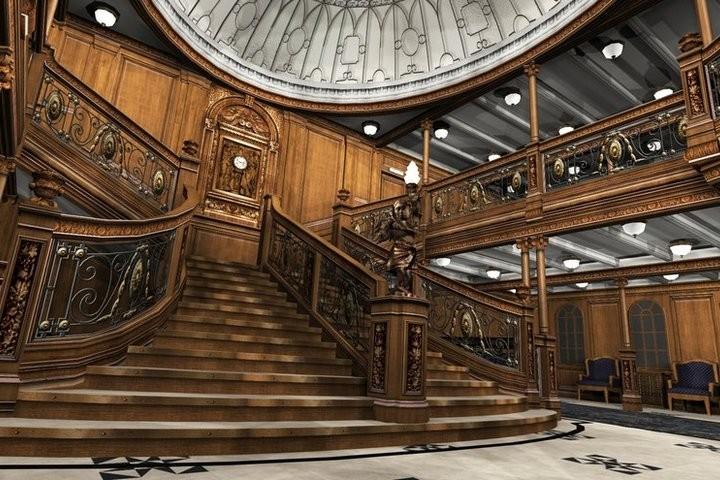 Легендарная лестница Титаника