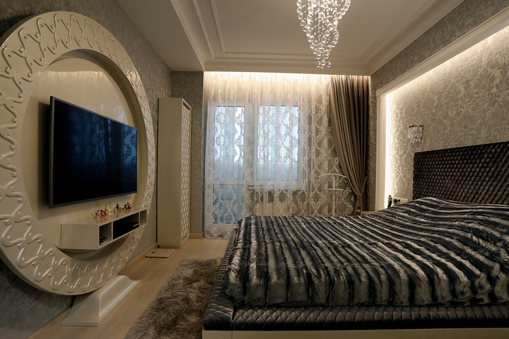 Дизайн-проект и ремонт в спальне от Remelle