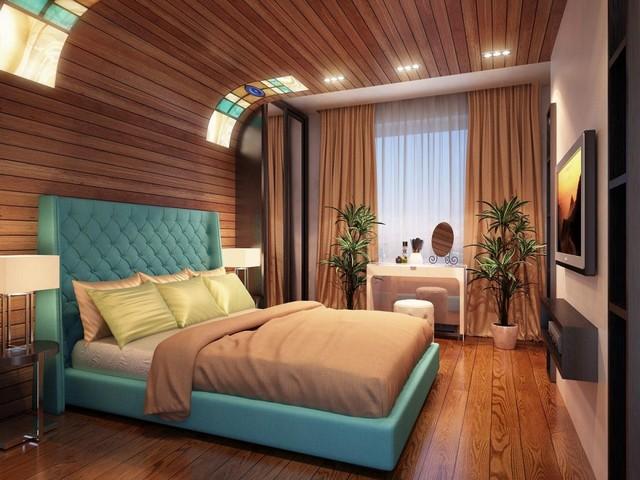 Стильная спальня водолея