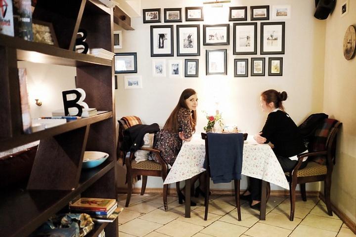 Ресторан-гостиная с декором, как дома