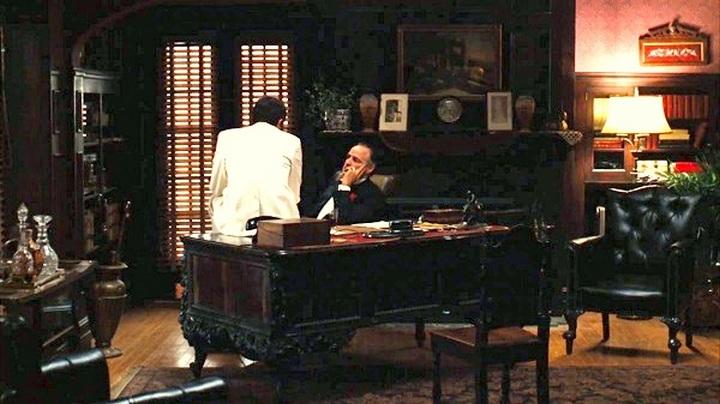 Кабинет дона Вито Корлеоне в фамильном доме