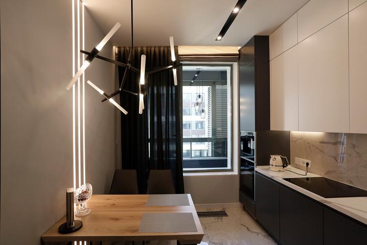 Кухонная мебель по высоте потолка