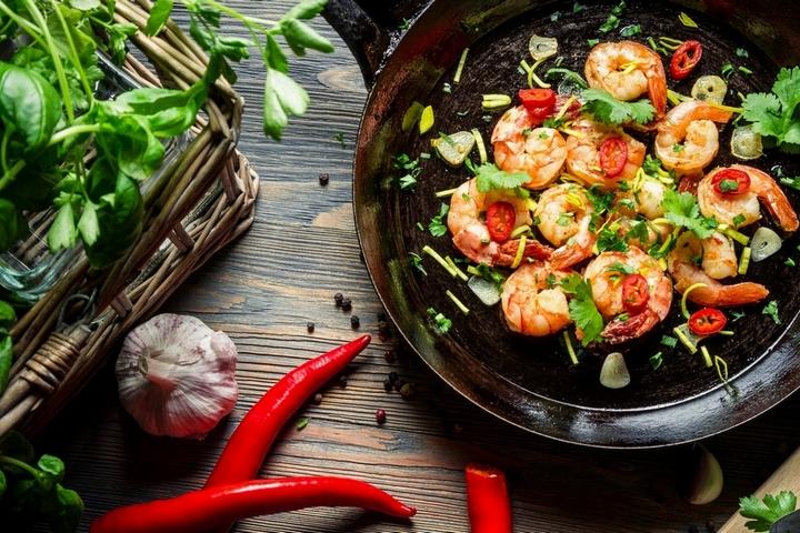 Блюдо для приготовления на сковороде