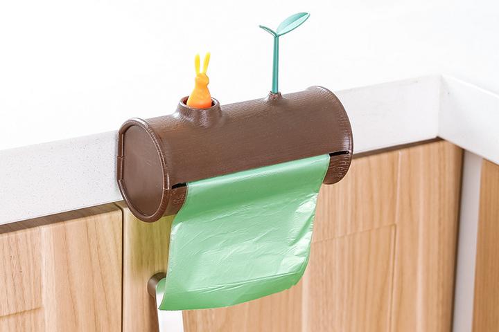 Держатель для полотенец и для мешков для мусора