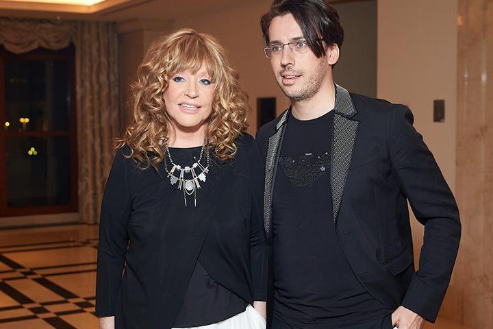 Алла Борисовна и Максим Галкин