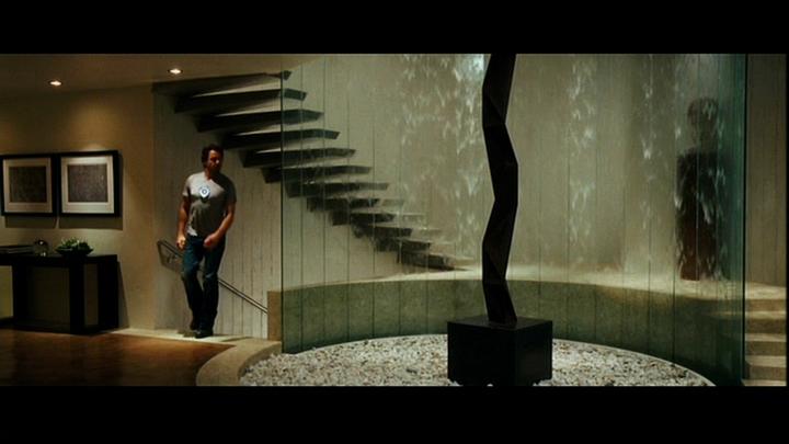 Водопад на стеклянной основе