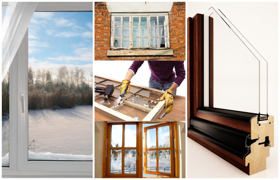 Пластиковые окна; Реставрированные окна; Дубовые окна
