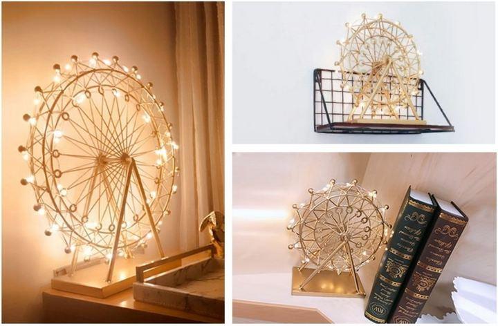 Светильник в виде колеса обозрения