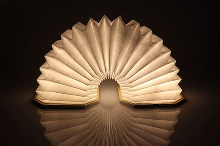 Лампа-книга