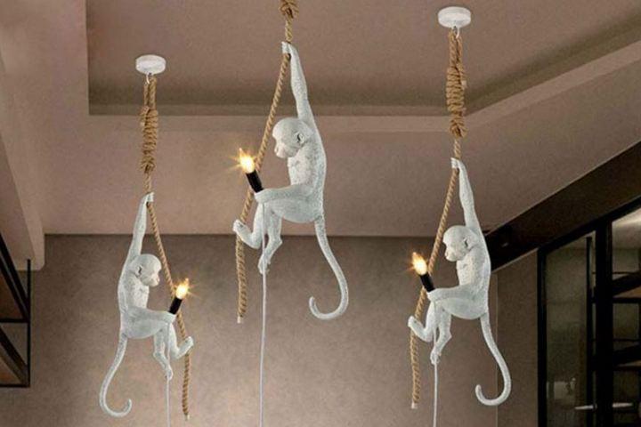 Светильники-мартышки