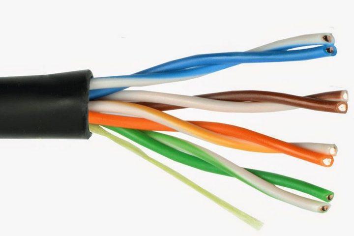 4-парный кабель витой пары