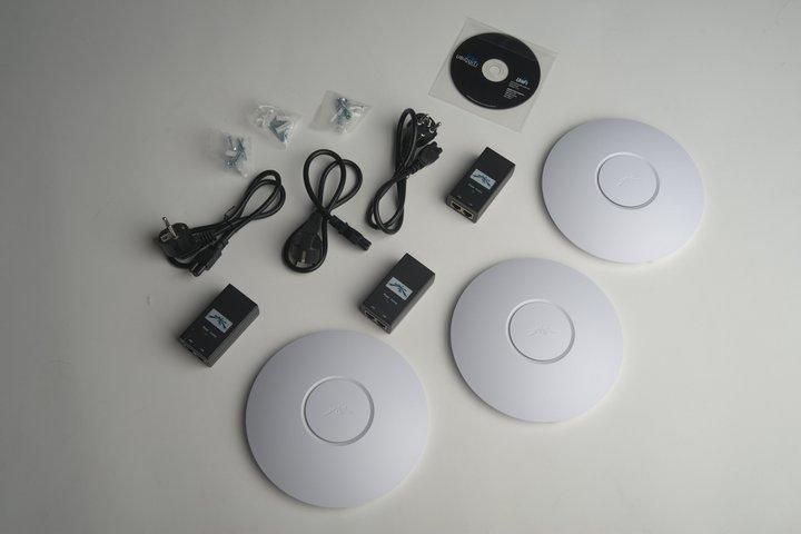 Вариант комплектации набора точек доступа Wi-fi