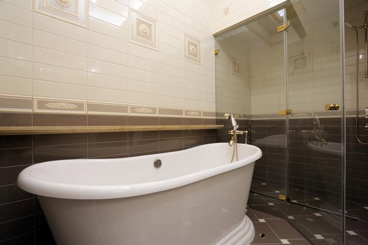 Совмещенная ванная комната с хамамом