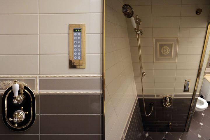 Система подачи и регулирования пара и душ