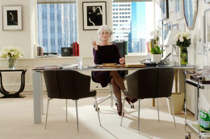 Мэрил Стрип в образе редактора журнала