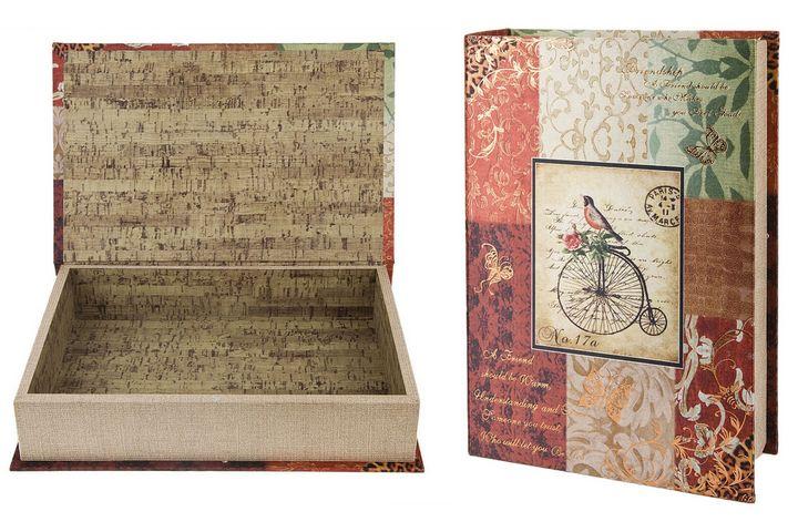 Шкатулка в форме книги