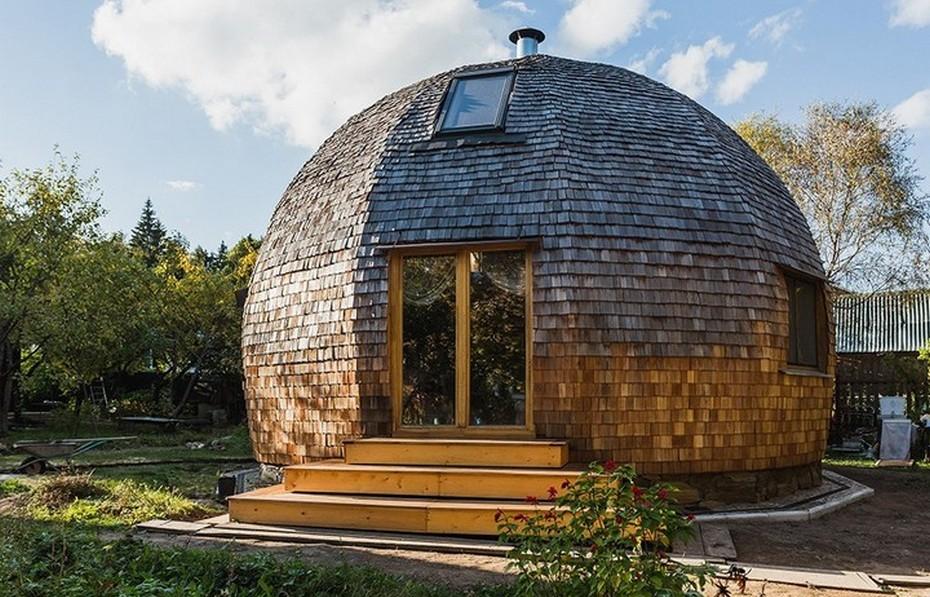 Дом-шар в Зеленограде