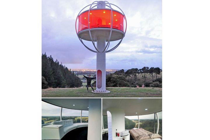 Дом-фонарь с видом на 360 градусов