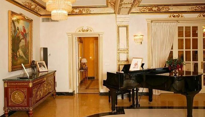 Зона для игры на рояле