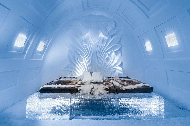 Спальня изо льда