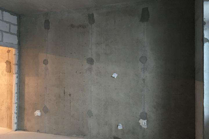 Подготовка стены под коммуникации