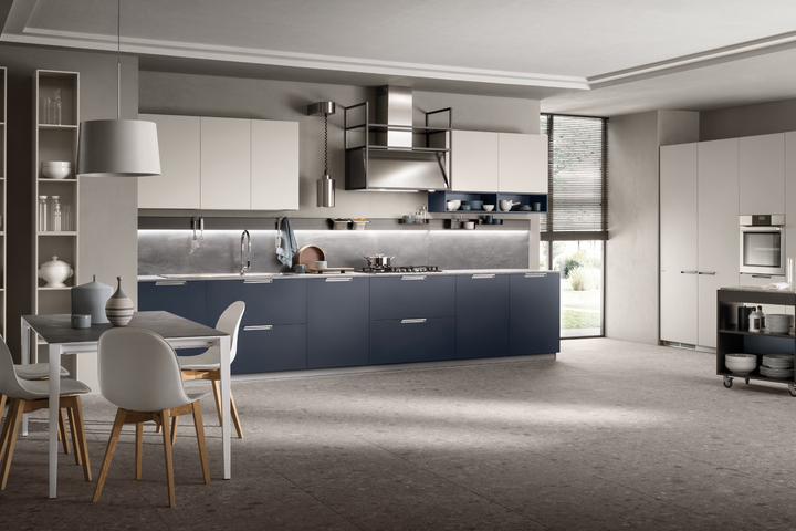 Кухня из коллекции в синем цвете