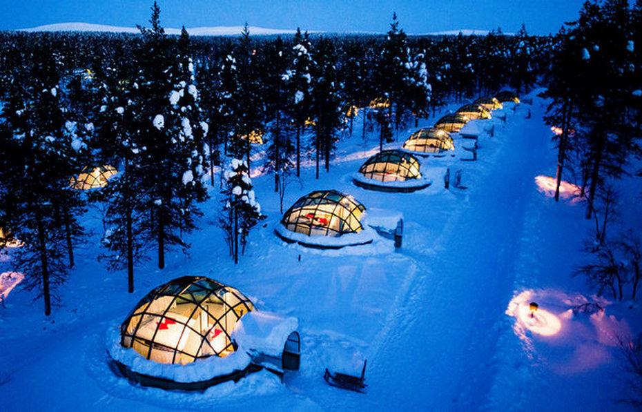 Номера-иглу в Финском отеле