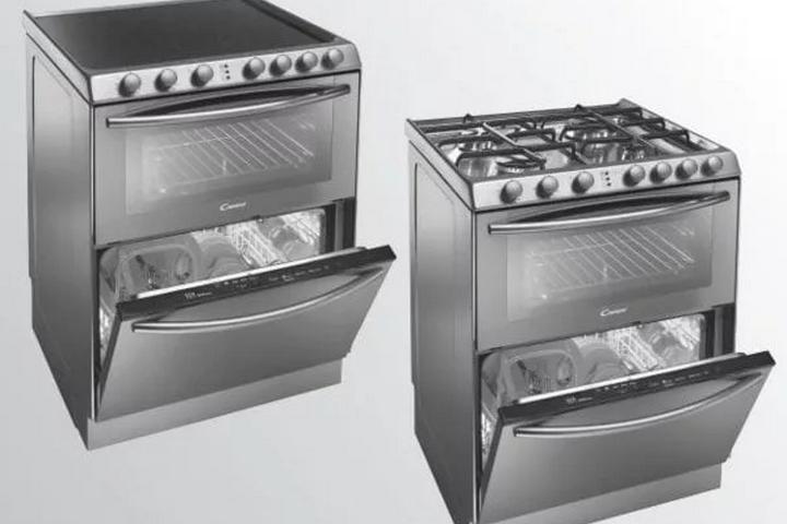 3в1 духовка, посудомойка и варочная панель