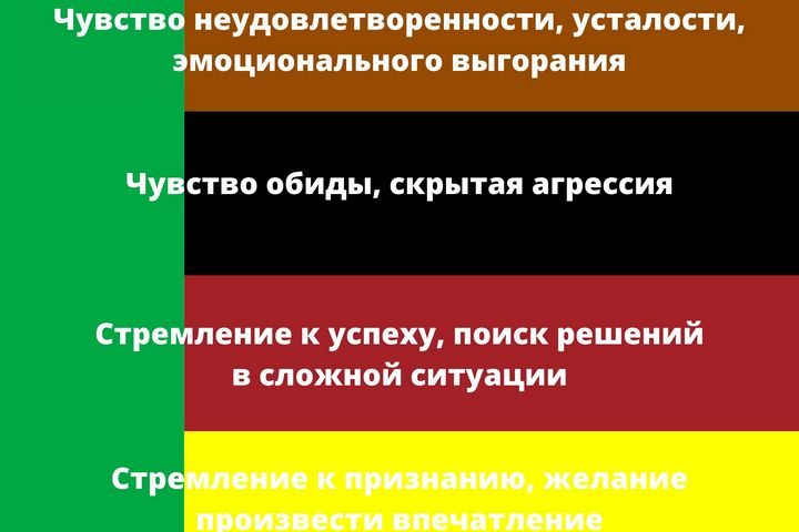 Сочетания с зеленым