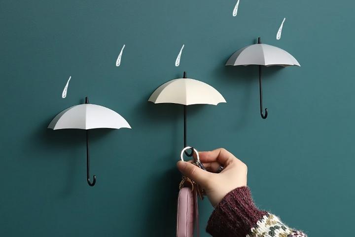 Ключницы-зонтики