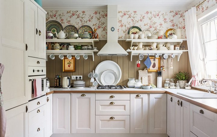 Кухня со скандинавскими мотивами