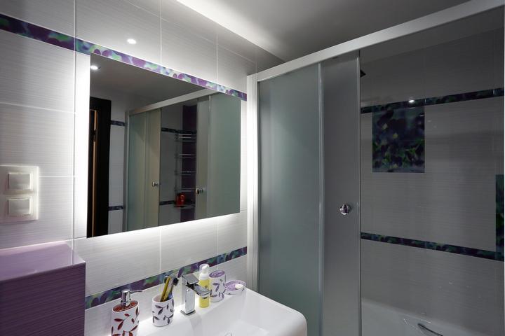 Эргономичное помещение ванной