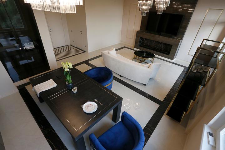 Совмещенная столовая-гостиная