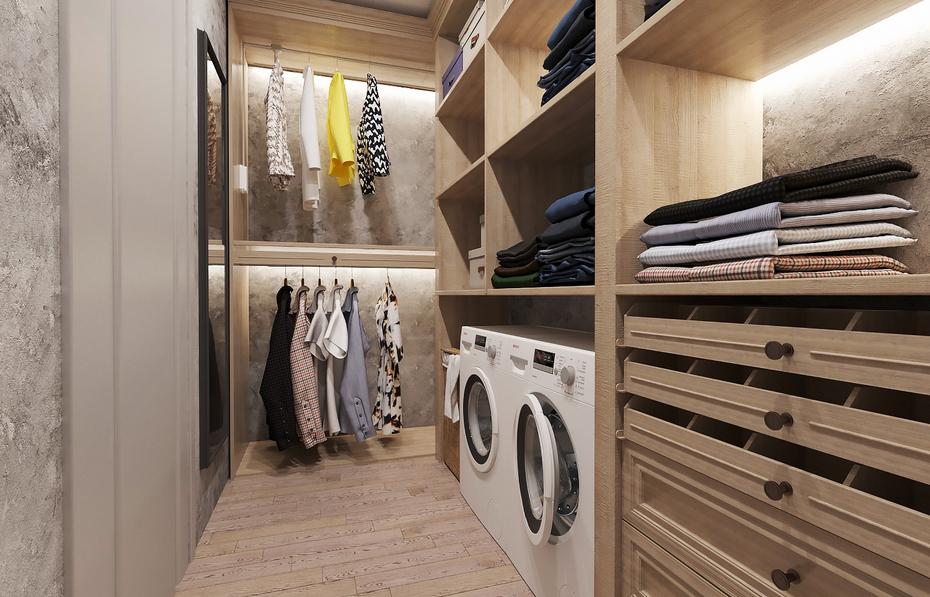 Организация хранения в гардеробной