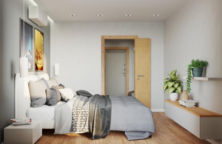 Спальня после уборки